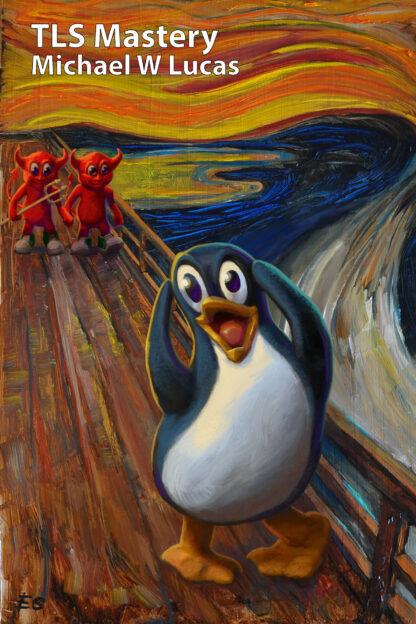 The Scream, starring Tux